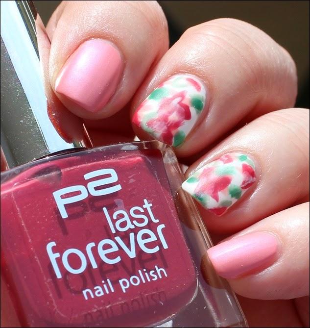 Mottomonat Blütenzauber Nageldesign Nail Art Flowers Spring 01