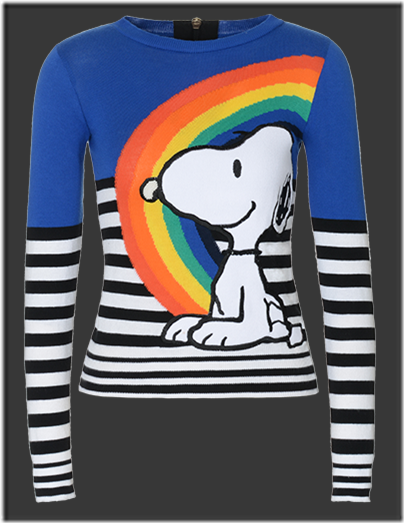 Fay Snoopy Crew-neck Sweater GBP 310 - 01