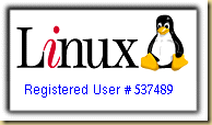Registered Linux User #537489