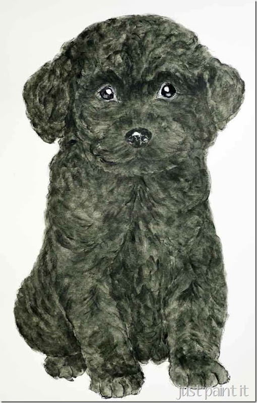 Poodle-Painting-H