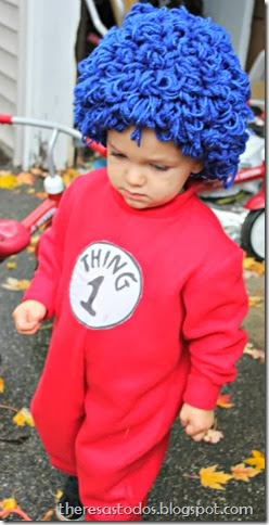 DIY Thing 1 Costume