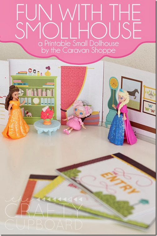 Smollhouse Fun-Printable Dollhouse by Caravan Shoppe