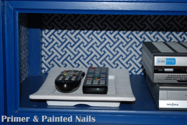 Remote Holder After - Primer & Painted Nails
