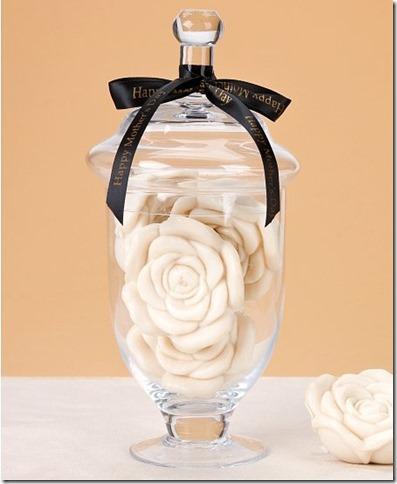jar of gardenia soaps