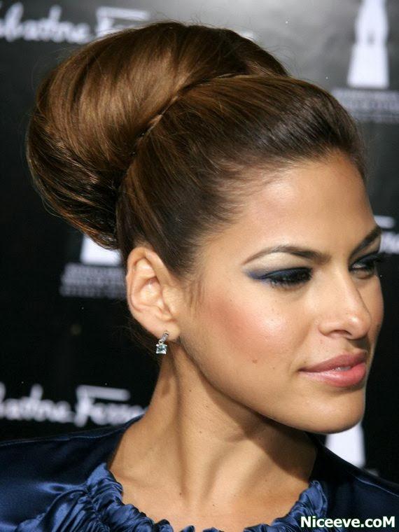 cute hair styles Bun Hairstyles for Women 2014