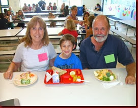 2013.09.09 Logan - Grandparents' Day at School