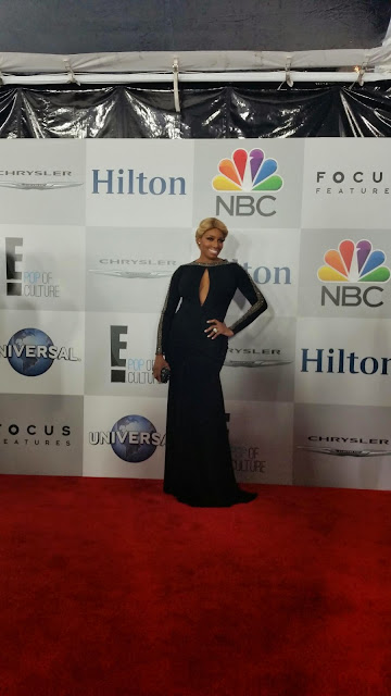 Nene Leeks at the 2015 Golden Globes NBC After Party