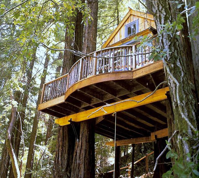 Hacer una casa infantil - Como construir una casa en un arbol ...