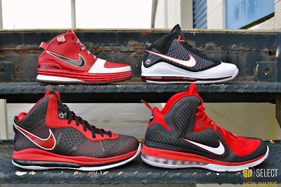 justin amazing sn select feature 08 Justin Amazings Nike LeBron Sneaker Collection by SN Select