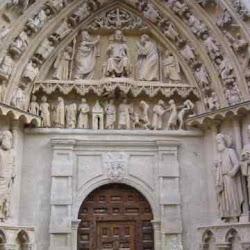 85 - Puerta de la Coroneria de la Catedral de Burgos