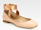 I can't get enough of Chloe ballet flats and I've been coveting this pair for months! ($485, Saks Fifth Avenue)