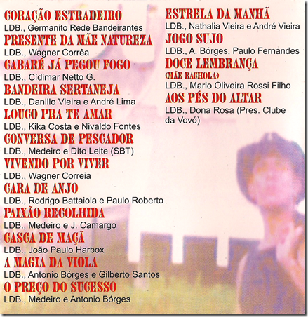 Leandro Debétio Contracapa