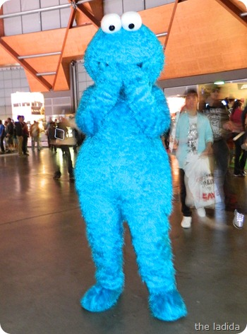 EB Expo 2012 - Cosplay -  Cookie Monster