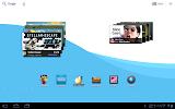 Motorola Xoom -  esempio di widget scrollabili