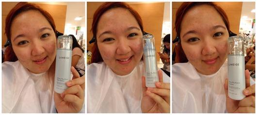 Priscilla Laneige Beautiful Blogger Challenge skincare