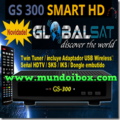 GLOBALSAT GS 300 SMART HD