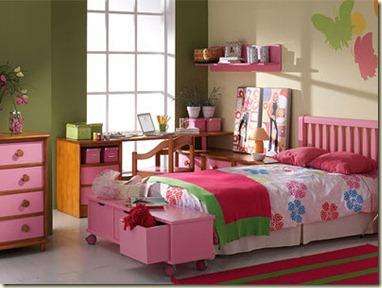 decoración de dormitorios juveniles femeninos4