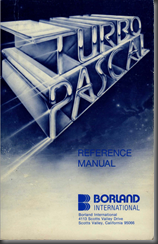 Turbo Pascal Reference Manual