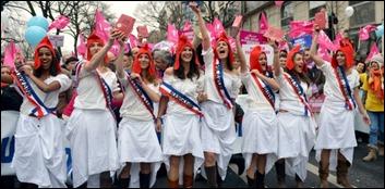protesto contra casamento gay França