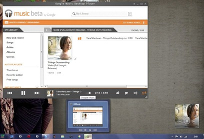 Google Music Desktop Player