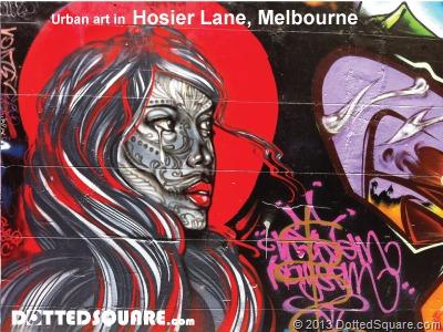 Hosier Lane-Urban art