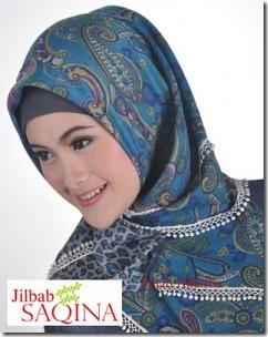 Model Jilbab Saqina Terbaru