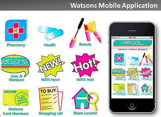 WATSONS IPHONE APP + FREE 5% COUPON ~ BeauteRunway.Com - Singapore ...