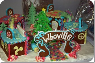 whoville gingerbread house Grinch Christmas