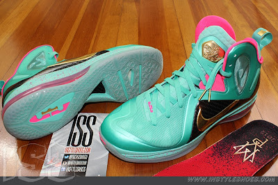 nike lebron 9 ps elite statue of liberty pe 3 07 Nike LeBron 9 PS Elite Statue of Liberty PE Has a Twin!
