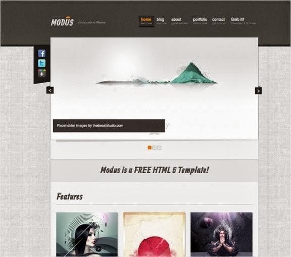 10 nuevas plantillas HTML5 con Responsive Design 10