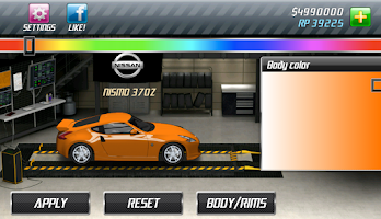 Screenshot of Drag Racing