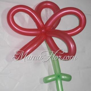 Aprende a Elaborar una Flor con Globos