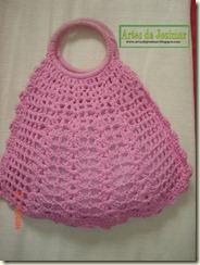 bolsa rosa