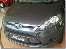 New ford Fiesta front view 2