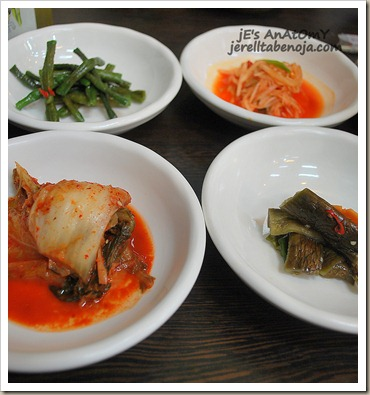 korean food, restaurant, kimchi, maru