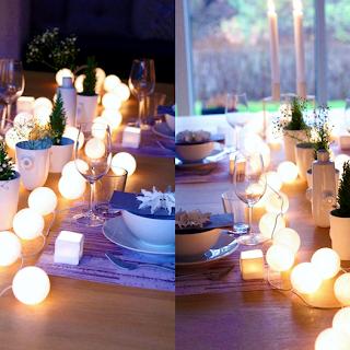 Centro de Mesa con Luces para Eventos Especiales, manualidades fáciles