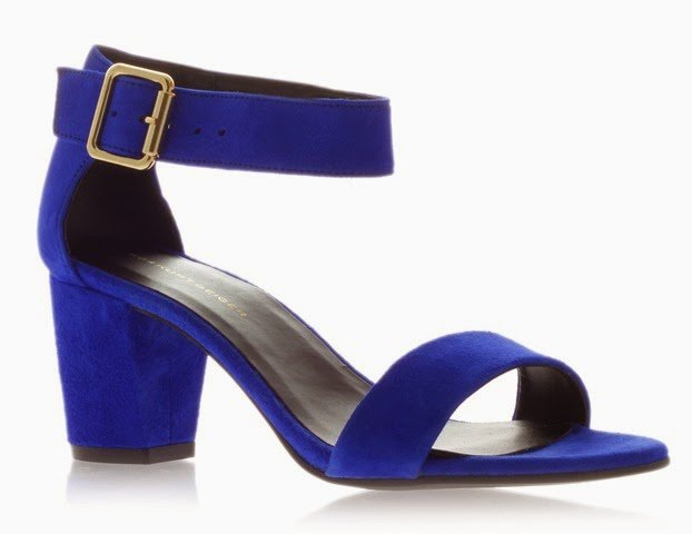 Kurt Geiger Nina Cobalt Blue Sandals
