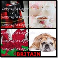BRITAIN- 4 Pics 1 Word Answers 3 Letters