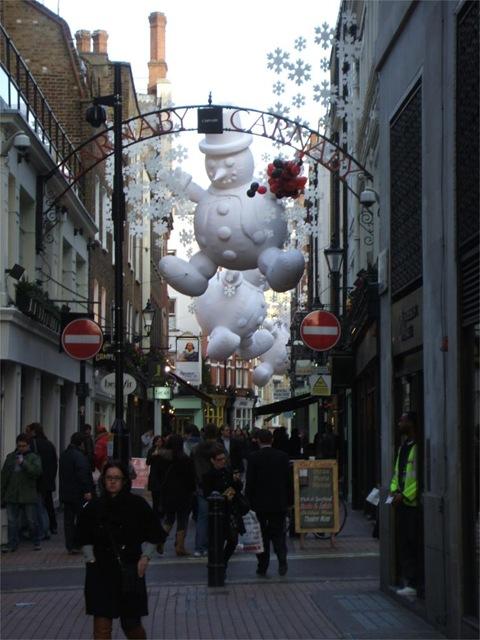 Carnaby Street Christmas 2008