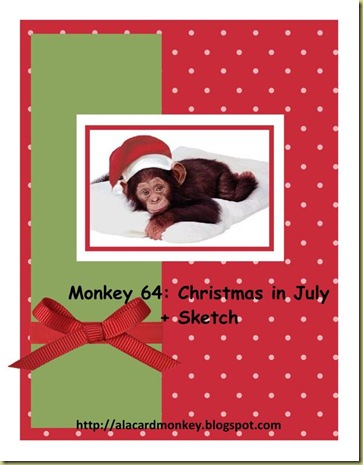 Monkey 64 Christmas in July-001