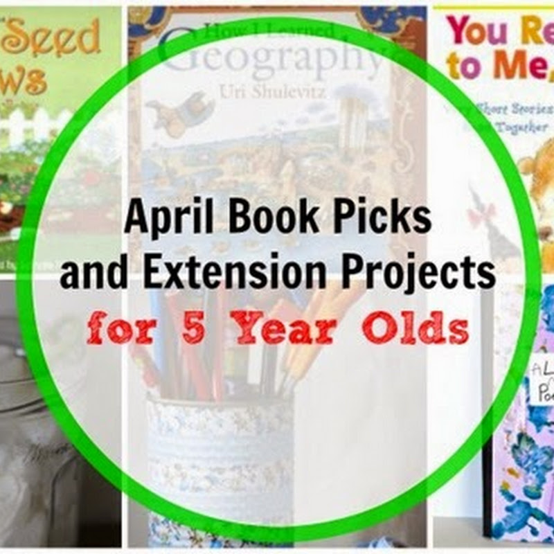 6 April Books for 5 Year Olds