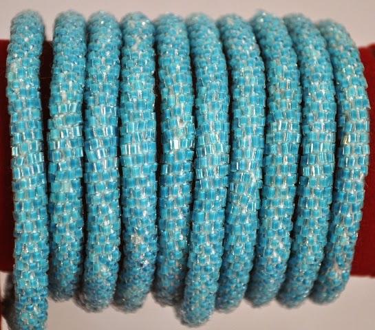 Rollover Blue Bracelets
