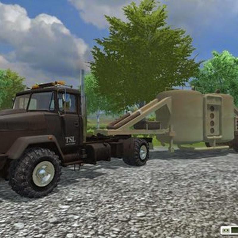 Farming simulator 2013 - KalkSilotrailer v 1.0