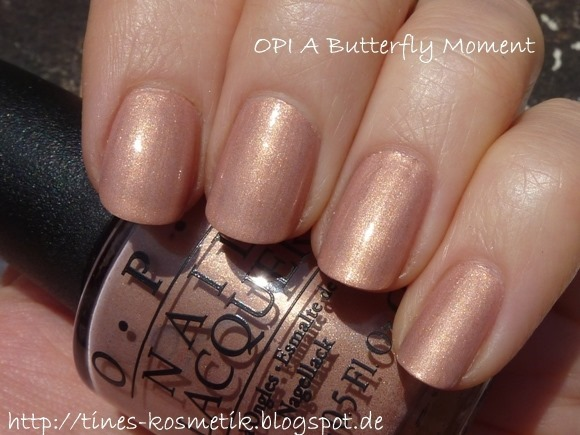 OPI A Butterfly Moment 3