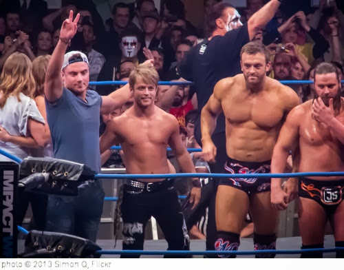 'Marty Scurll, Rockstar Spud & Magnus @ Impact! TV Tapings' photo (c) 2013, Simon Q - license: http://creativecommons.org/licenses/by/2.0/