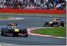 Le due Red Bulla  Silverstone 2011
