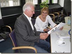 Ankunft in Deutschland, Frankfurt und Mnchen mit Harald Zintl 005