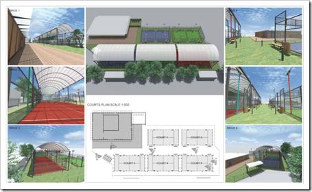 Padel Club Wembley la instalación más importante de Inglaterra se inaugurará en Marzo 2014.