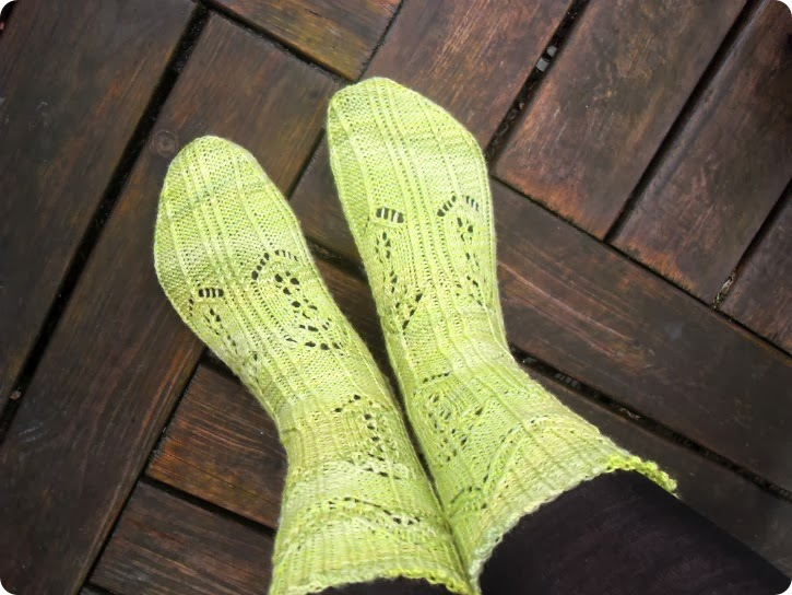 TTL Mystery Sock 2014