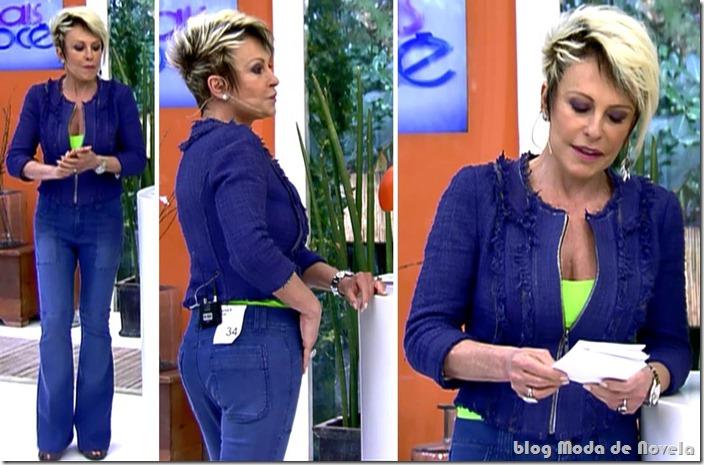 moda do programa mais você - ana maria braga dia 30 de setembro de 2013